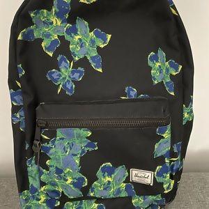 Herschel small floral backpack
